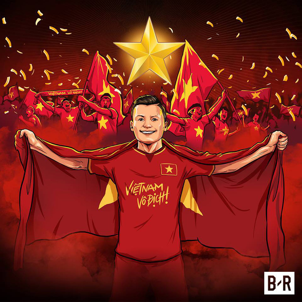 Loạt hình vẽ đáng yêu về hành trình đáng nhớ của U23 Việt Nam - Ảnh 1.