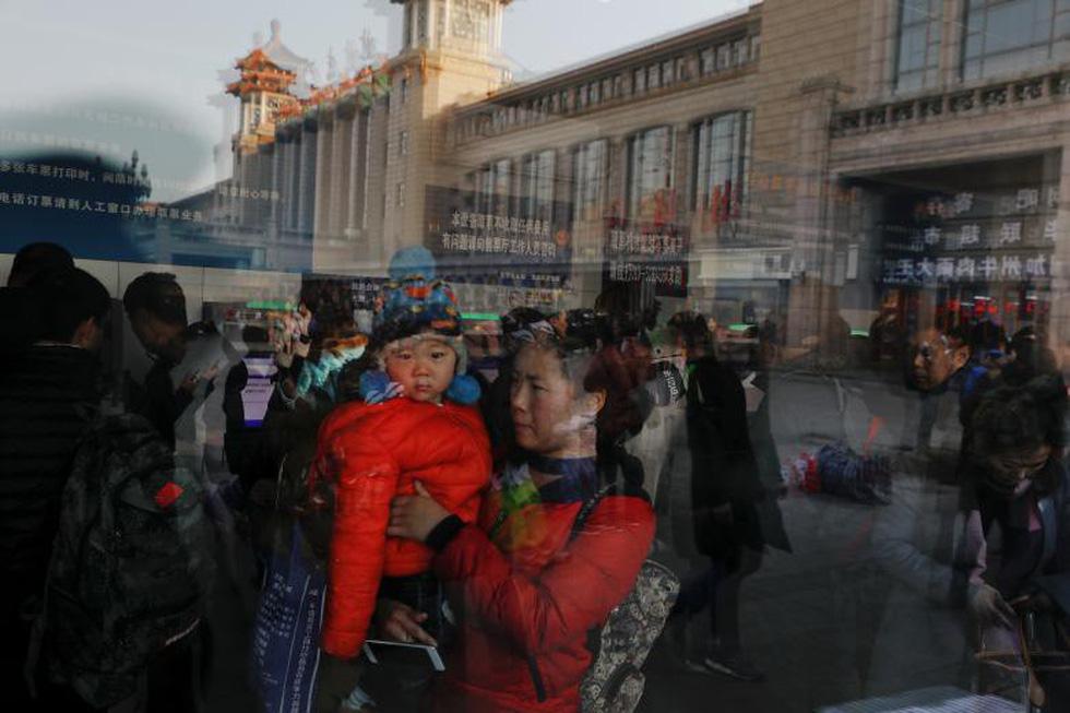 2,98 tỉ lượt dân Trung Quốc ùn ùn về quê ăn Tết - Ảnh 1.