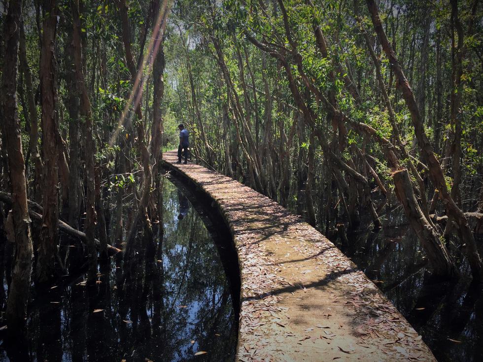 Bồng bềnh làng nổi Tân Lập ở Miền Tây - Ảnh 5.
