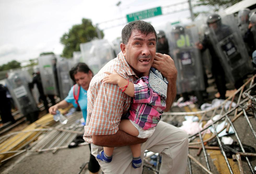 Rợn người với cuộc di cư liều lĩnh hướng vào Mỹ - Ảnh 5.