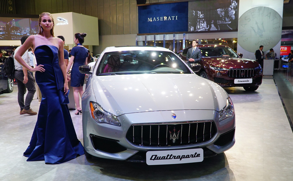 Ngắm xe sang tại Vietnam Motor Show 2018 - Ảnh 13.
