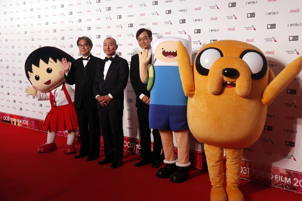 Hồng Ánh, Liên Bỉnh Phát lên thảm đỏ Liên hoan phim Tokyo - Ảnh 11.