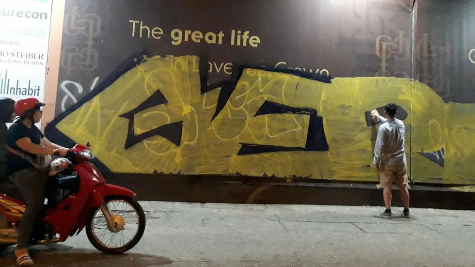 Tranh tường, graffiti và... bôi bẩn đường phố - Ảnh 6.