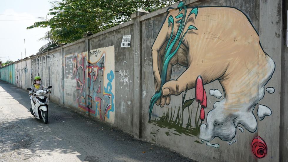 Tranh tường, graffiti và... bôi bẩn đường phố - Ảnh 9.