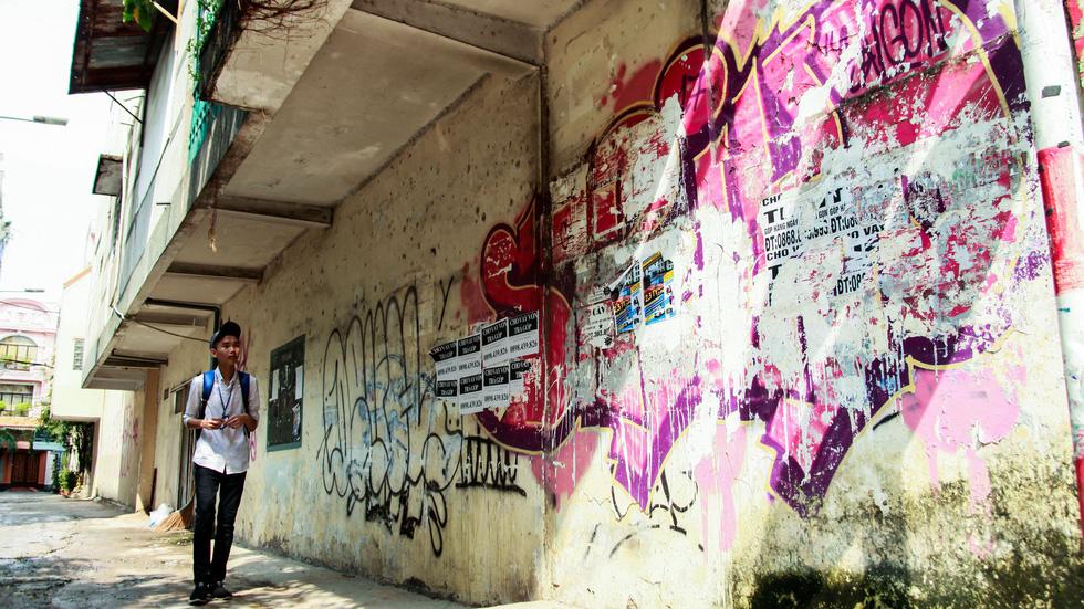 Tranh tường, graffiti và... bôi bẩn đường phố - Ảnh 8.