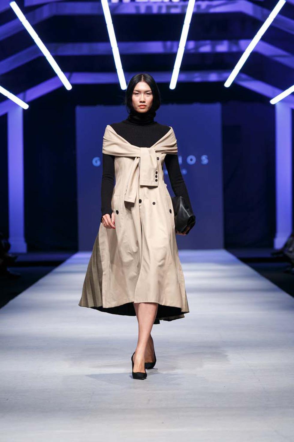 Lan Khuê, Lệ Nam mở màn Tuần lễ thời trang quốc tế Việt Nam - Ảnh 5.