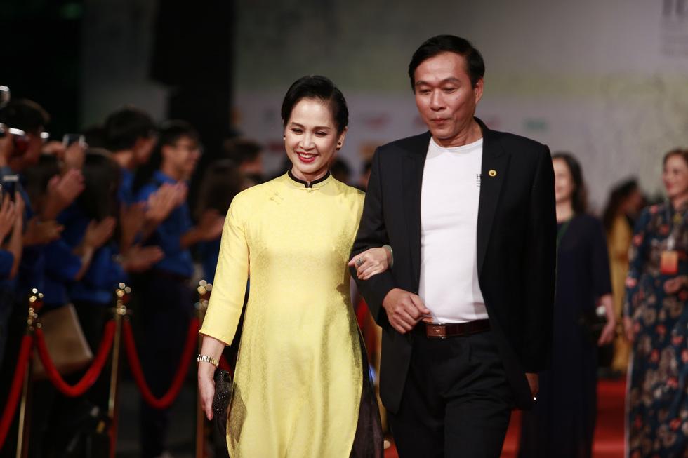 Gặp Như Quỳnh, Lê Khanh, Hải Yến, Ngô Thanh Vân trên thảm đỏ HANIFF - Ảnh 5.