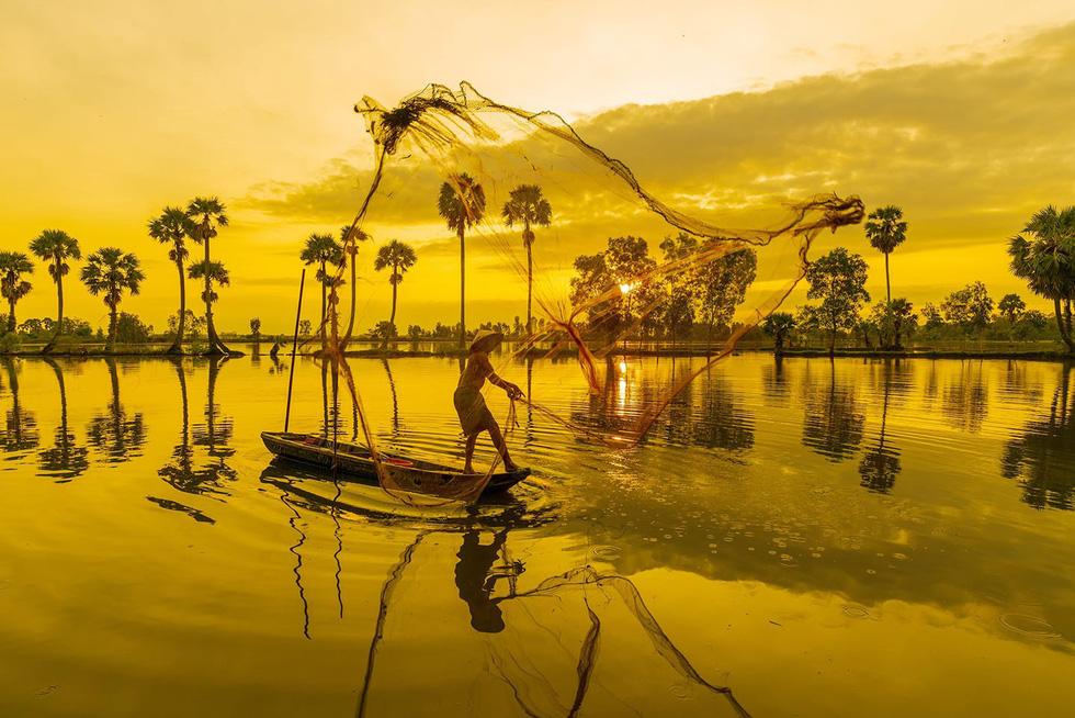 Đến xứ sở cây thốt nốt Tịnh Biên mùa nước nổi - Ảnh 7.