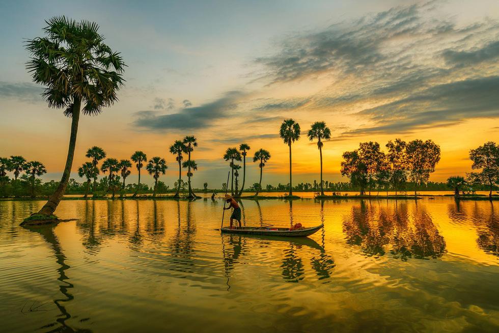Đến xứ sở cây thốt nốt Tịnh Biên mùa nước nổi - Ảnh 8.