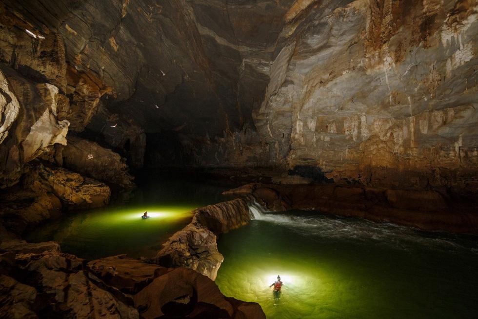 Thế giới kỳ bí trong hệ thống hang động Phong Nha - Kẻ Bàng - Ảnh 6.
