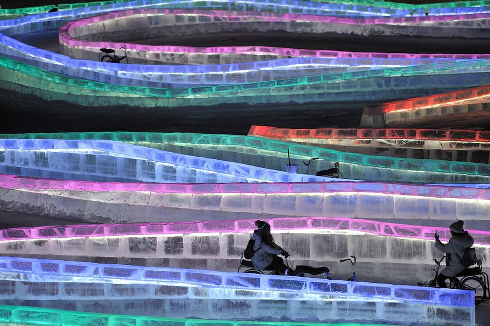 Sang Hàn Quốc và Trung Quốc vui lễ hội băng tuyết - Ảnh 11.