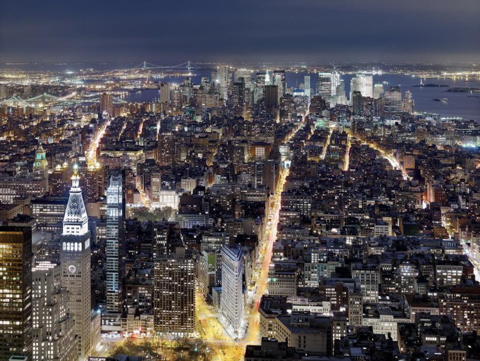 Ngắm ảnh các thành phố huyền thoại và rực rỡ về đêm - Ảnh 11.