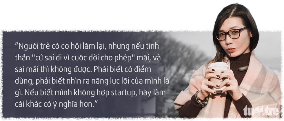 Thi Anh Đào: Không phải cứ mở công ty là thành startup - Ảnh 2.