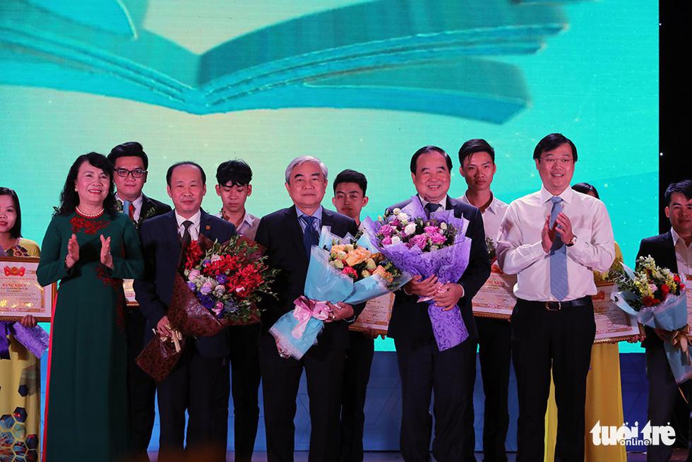 Bốn công trình đoạt giải Tri thức trẻ vì giáo dục - Ảnh 3.