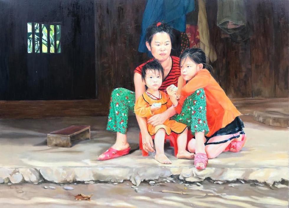 Có gì ở triển lãm tranh hiện thực đang thu hút khách tham quan Sài Gòn? - Ảnh 10.
