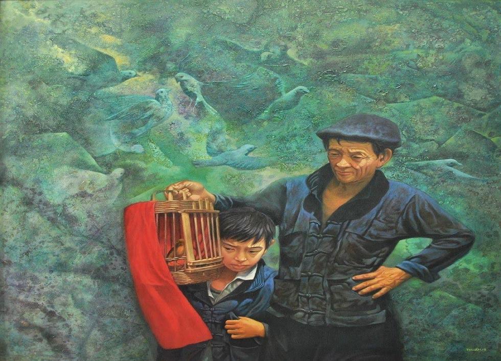 Có gì ở triển lãm tranh hiện thực đang thu hút khách tham quan Sài Gòn? - Ảnh 3.