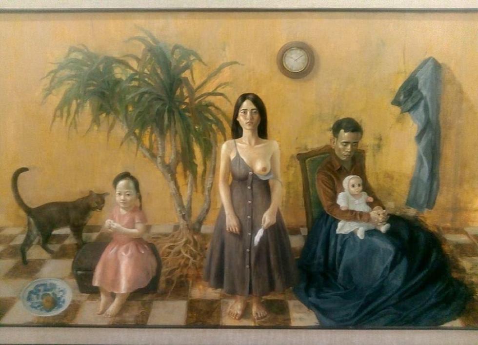 Có gì ở triển lãm tranh hiện thực đang thu hút khách tham quan Sài Gòn? - Ảnh 12.