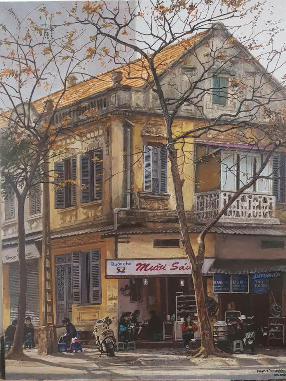 Có gì ở triển lãm tranh hiện thực đang thu hút khách tham quan Sài Gòn? - Ảnh 8.