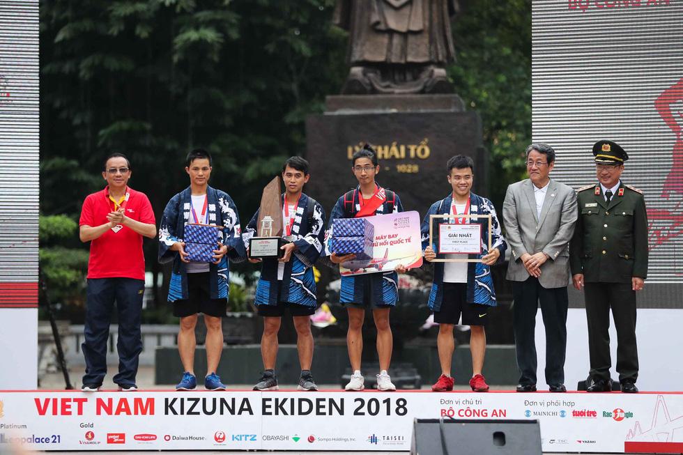 Nhóm nhạc nữ số 1 Nhật Bản dự giải chạy Kizuna Ekiden - Ảnh 12.