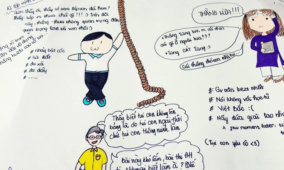 Ngày nhà giáo, học trò làm những câu nói huyền thoại của thầy cô - Ảnh 5.