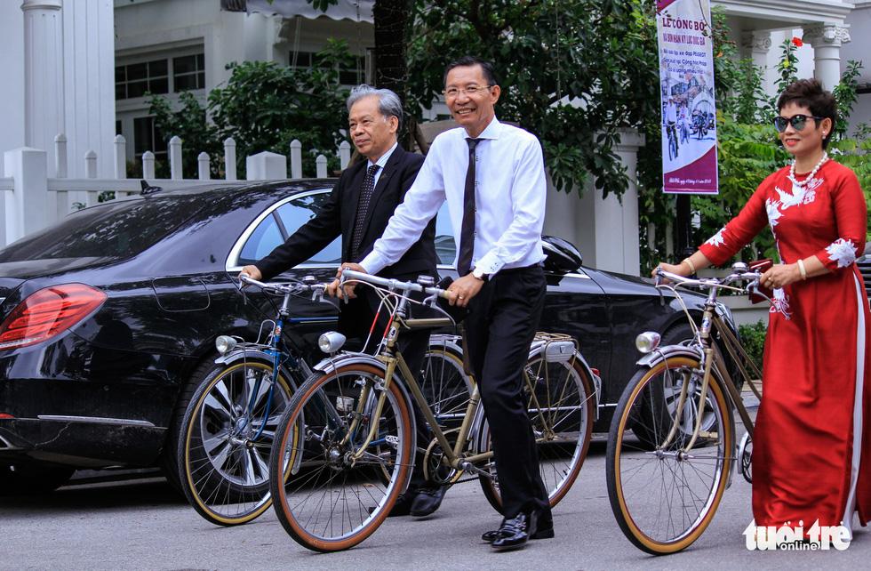 Chiêm ngưỡng bộ sưu tập xe đạp Peugeot nhiều nhất Việt Nam - Ảnh 2.