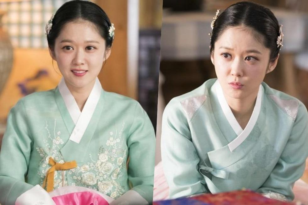 Jang Na Ra đẹp như gái 20 vào vai hoàng hậu - Ảnh 1.
