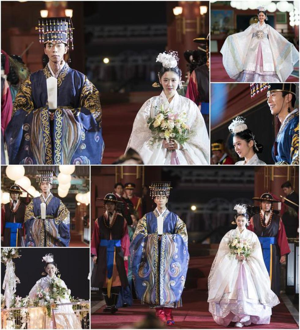 Jang Na Ra đẹp như gái 20 vào vai hoàng hậu - Ảnh 3.