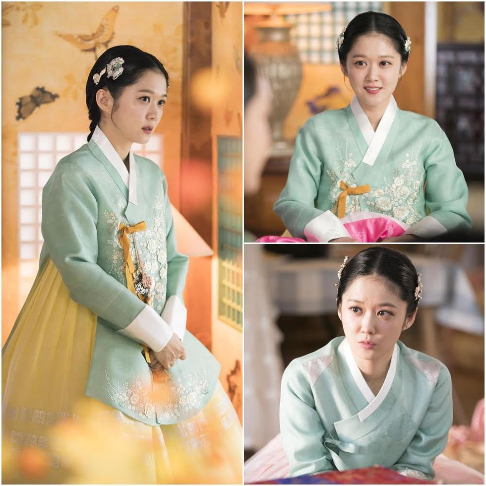 Jang Na Ra đẹp như gái 20 vào vai hoàng hậu - Ảnh 8.