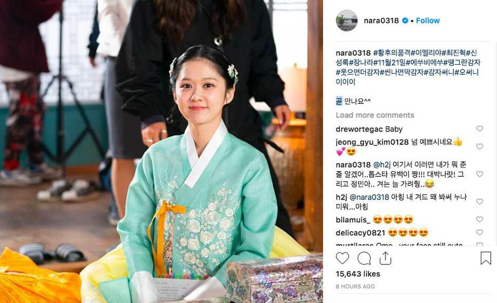 Jang Na Ra đẹp như gái 20 vào vai hoàng hậu - Ảnh 11.