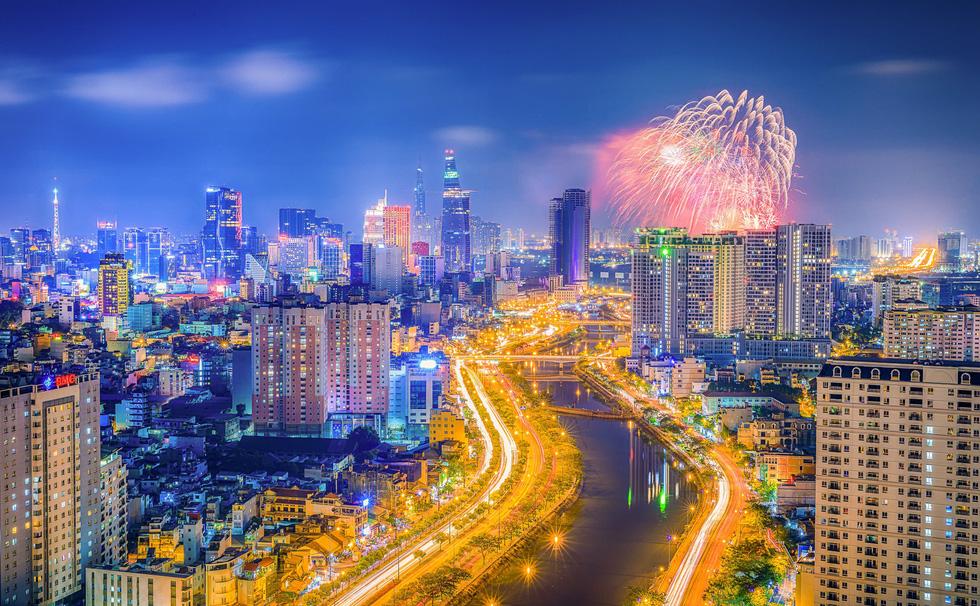 Bộ ảnh Sài Gòn tuyệt đẹp chụp từ trên cao - Ảnh 12.
