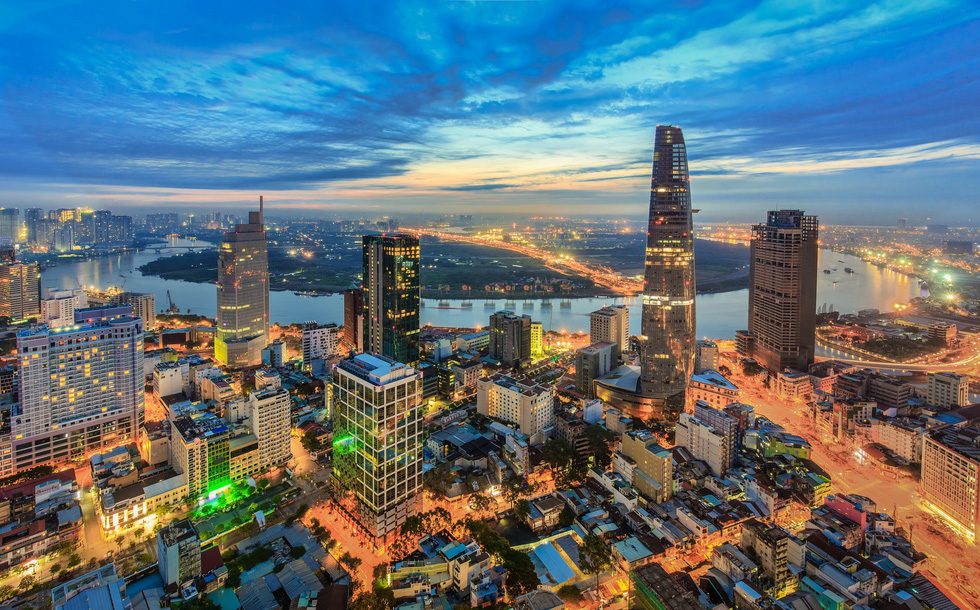 Bộ ảnh Sài Gòn tuyệt đẹp chụp từ trên cao - Ảnh 3.