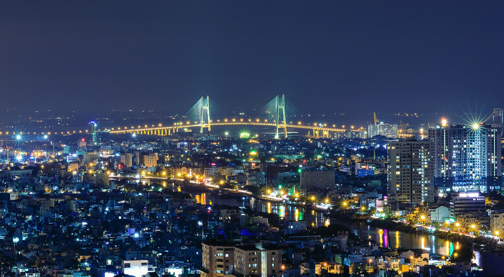Bộ ảnh Sài Gòn tuyệt đẹp chụp từ trên cao - Ảnh 4.