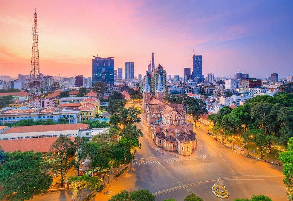 Bộ ảnh Sài Gòn tuyệt đẹp chụp từ trên cao - Ảnh 6.