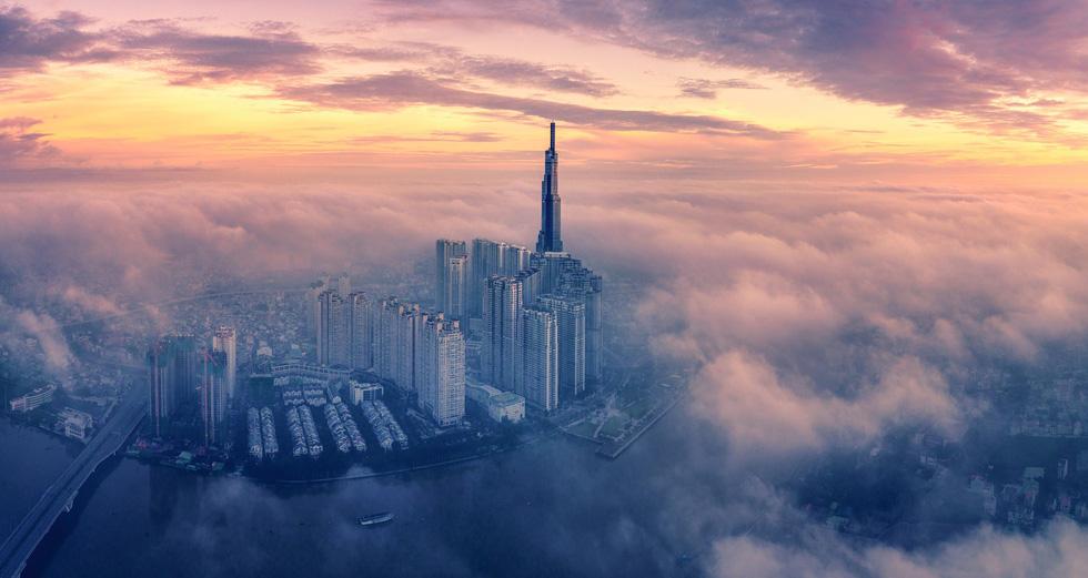 Bộ ảnh Sài Gòn tuyệt đẹp chụp từ trên cao - Ảnh 7.
