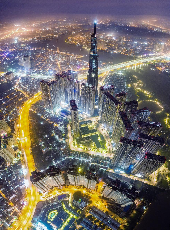 Bộ ảnh Sài Gòn tuyệt đẹp chụp từ trên cao - Ảnh 9.