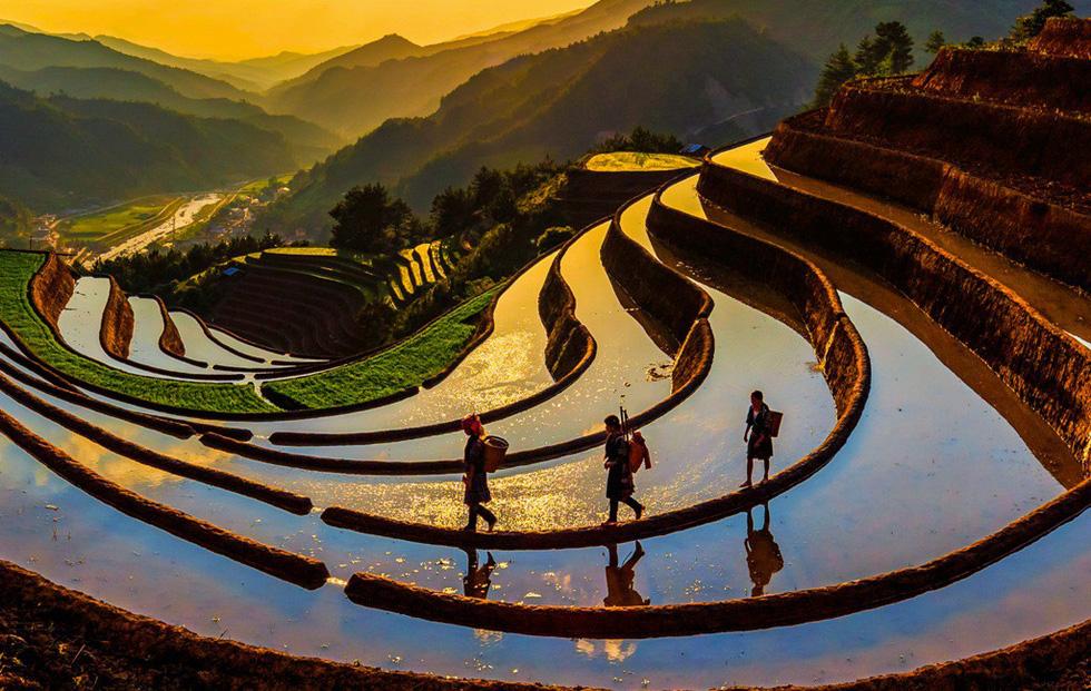 Ngây ngất với thiên nhiên và đời sống người Việt  qua ảnh - Ảnh 7.