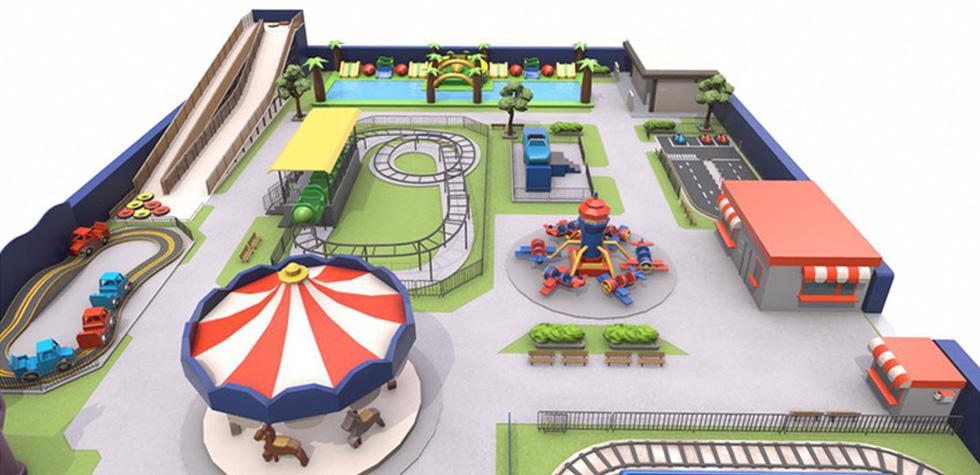 Công viên giải trí tiêu chuẩn quốc tế sắp ra mắt - Ảnh 1.