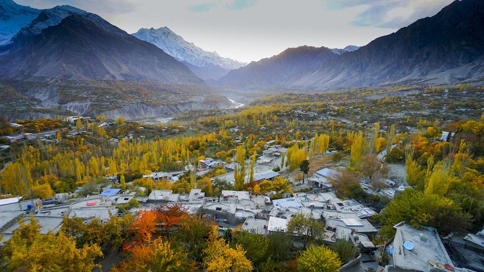 Huyền thoại mùa thu ở Hunza - miền Bắc Pakistan - Ảnh 7.