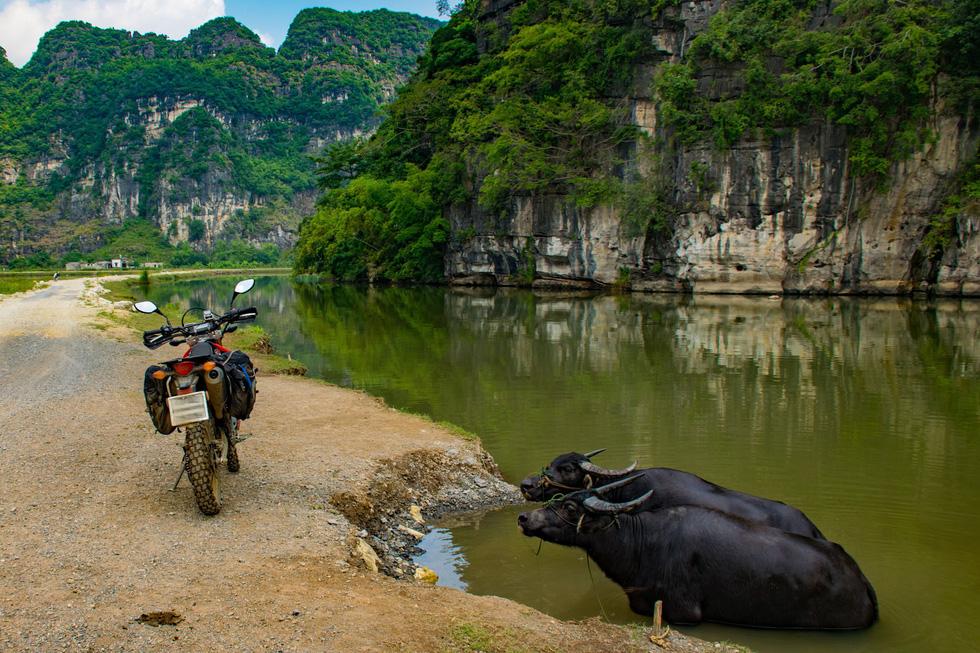 Du khách Đức: Tuyệt vời khi du lịch Việt Nam bằng xe máy - Ảnh 12.