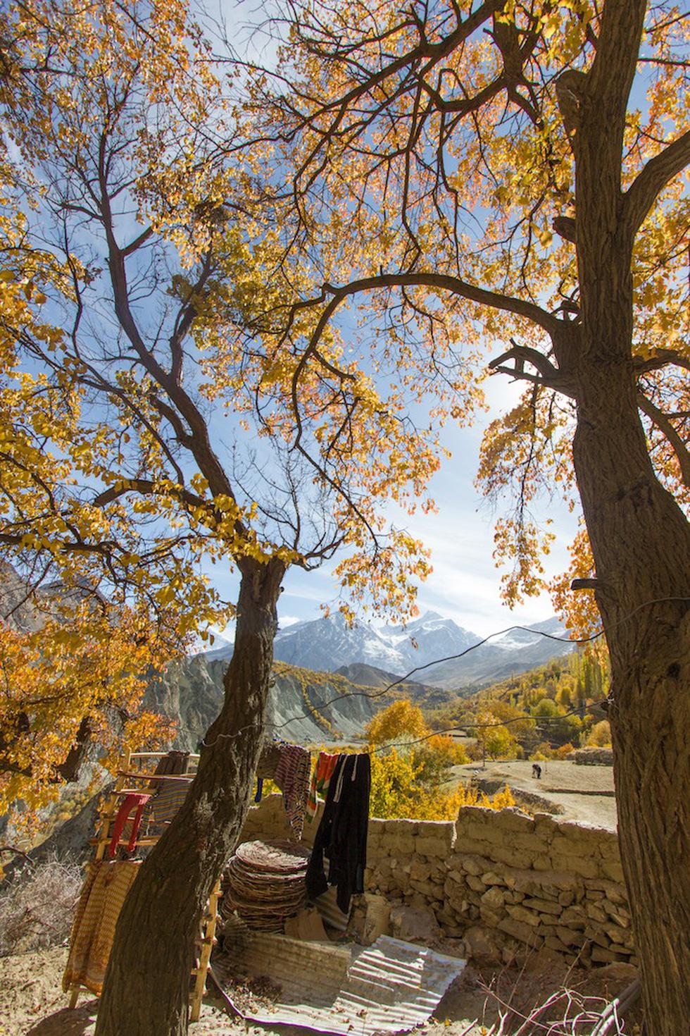 Huyền thoại mùa thu ở Hunza - miền Bắc Pakistan - Ảnh 8.