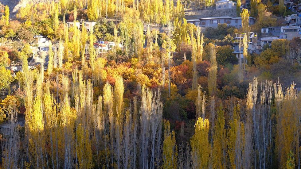 Huyền thoại mùa thu ở Hunza - miền Bắc Pakistan - Ảnh 5.