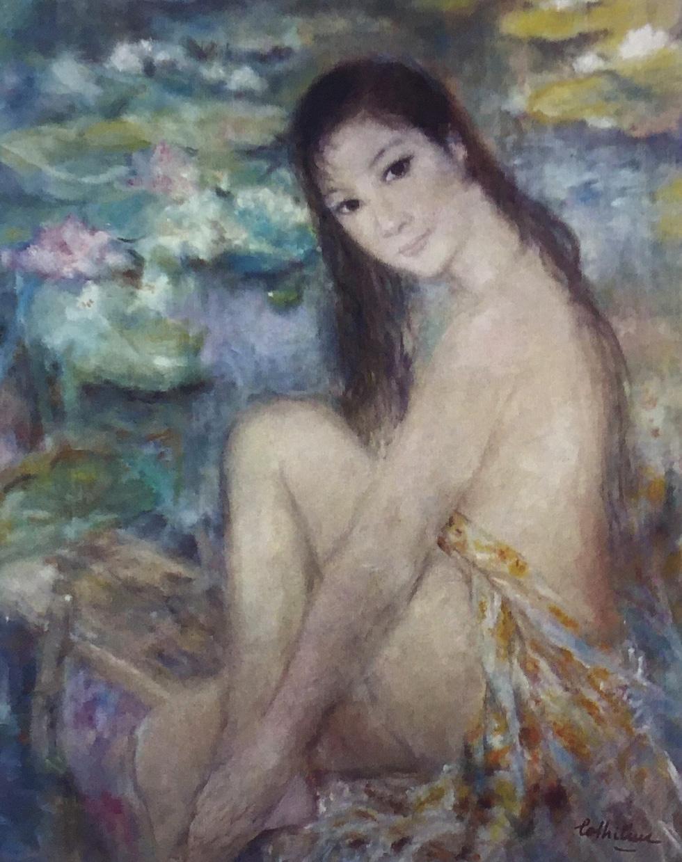 Đón 26 tác phẩm của họa sĩ Lê Thị Lựu tại triển lãm Ấn tượng hoàng hôn - Ảnh 4.