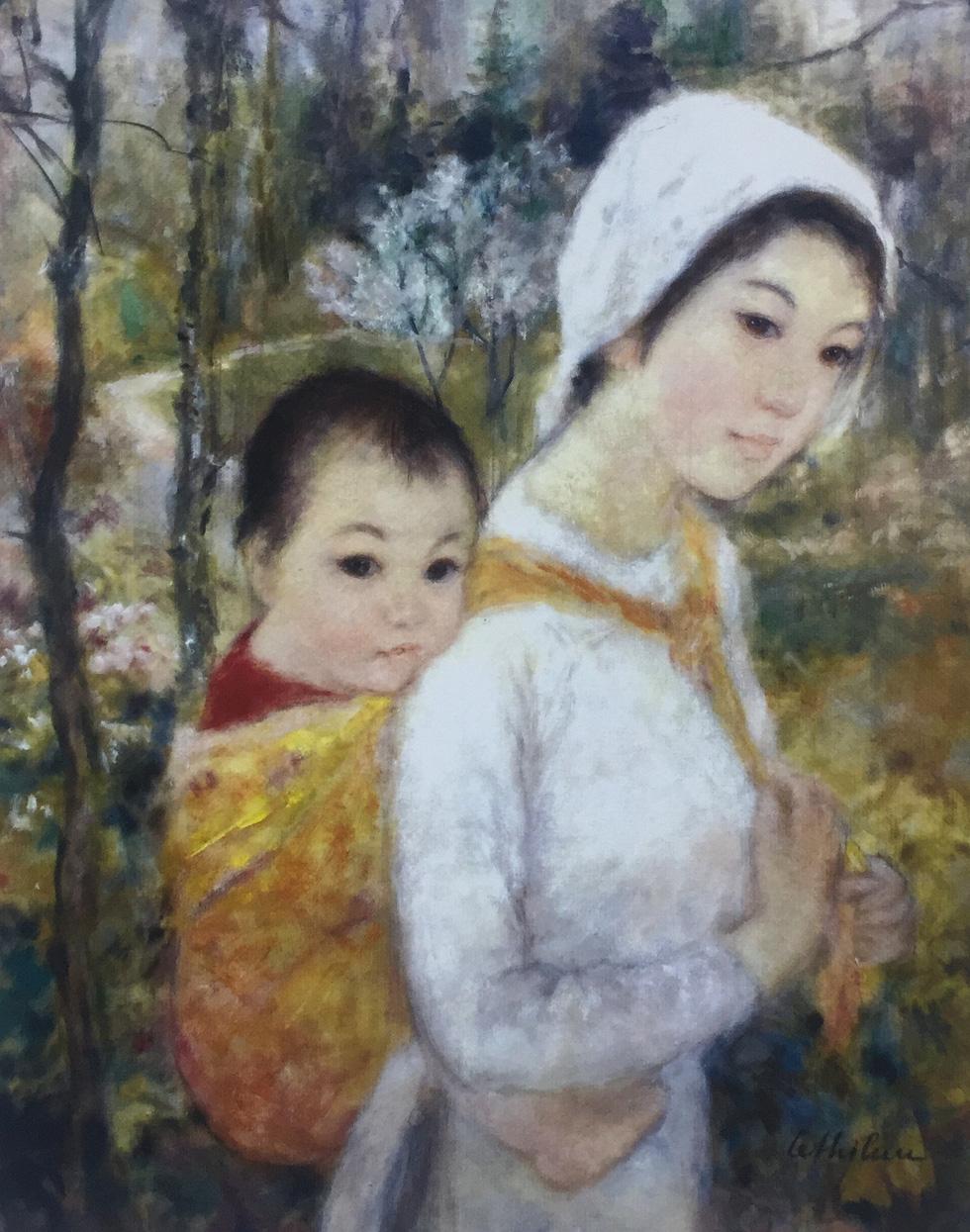 Đón 26 tác phẩm của họa sĩ Lê Thị Lựu tại triển lãm Ấn tượng hoàng hôn - Ảnh 7.
