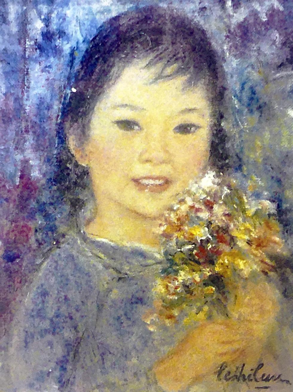 Đón 26 tác phẩm của họa sĩ Lê Thị Lựu tại triển lãm Ấn tượng hoàng hôn - Ảnh 3.