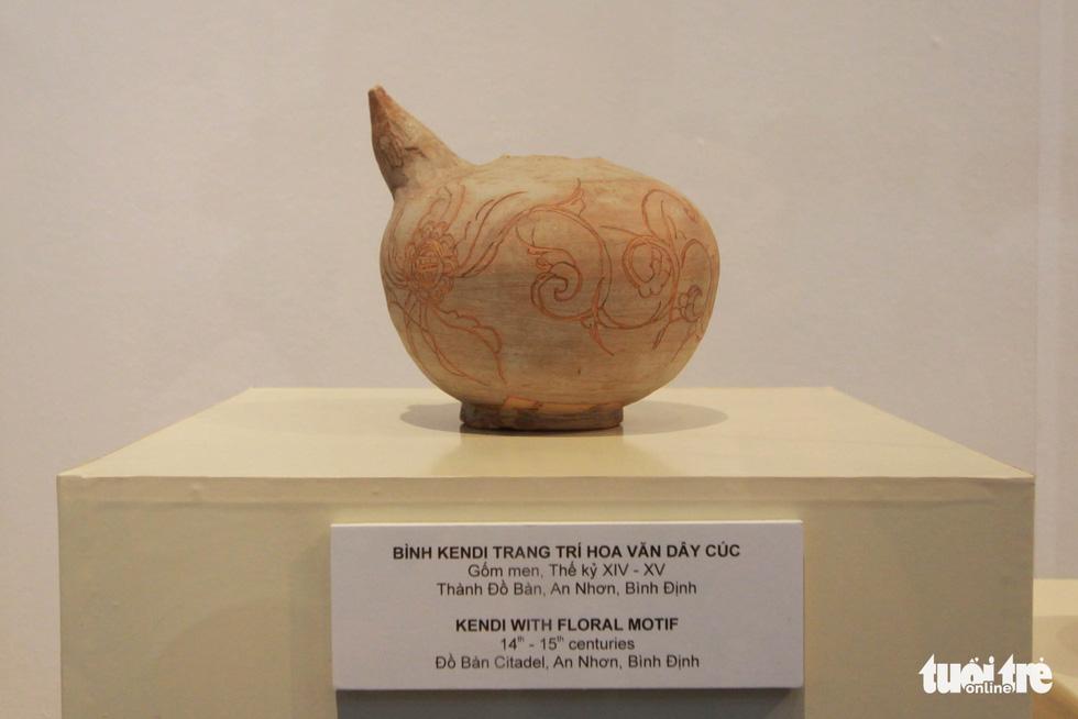 Chiêm ngưỡng vẻ đẹp gốm cổ Champa Bình Định - Ảnh 8.