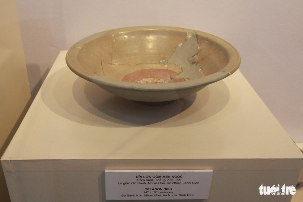 Chiêm ngưỡng vẻ đẹp gốm cổ Champa Bình Định - Ảnh 9.