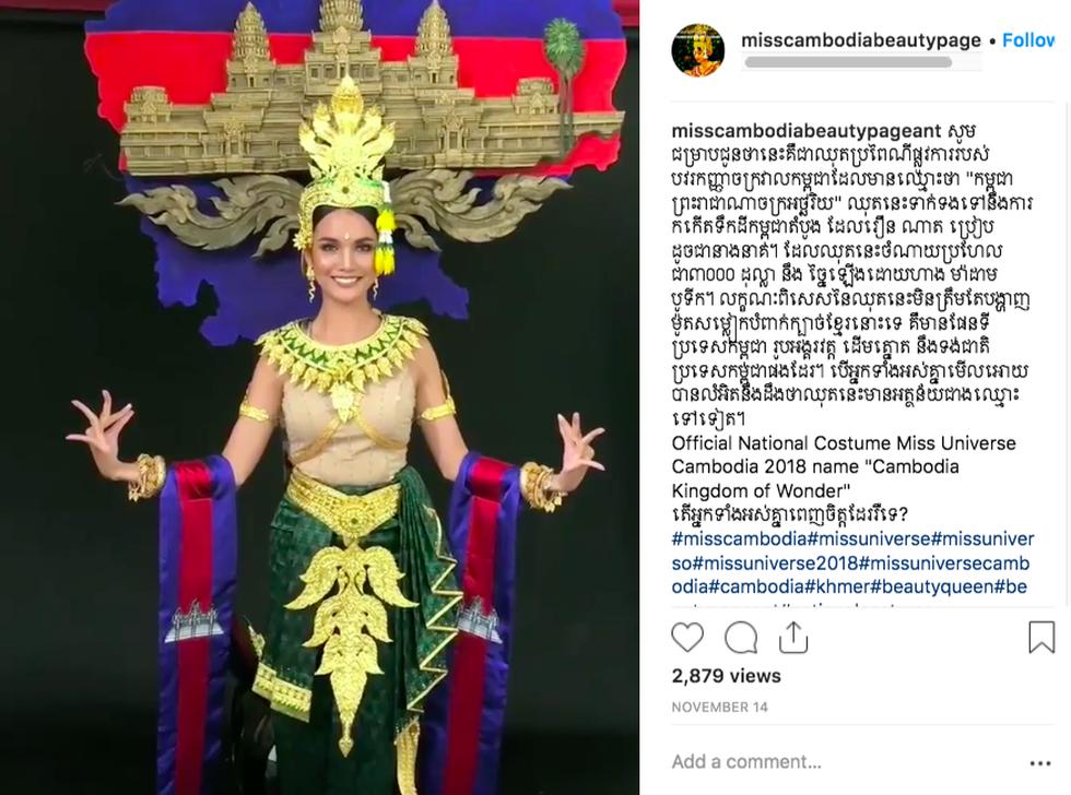 Quốc phục đại diện các nước dự Miss Universe 2018 ra sao? - Ảnh 6.