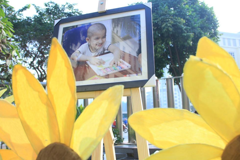 Bệnh nhi ung thư hát cùng Lê Cát Trọng Lý tại Ngày hội hoa hướng dương - Ảnh 6.