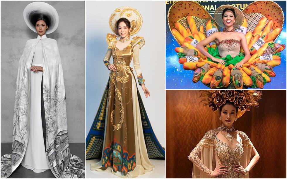 Người đẹp Việt thi nhan sắc quốc tế: áo dài luôn là lựa chọn an toàn? - Ảnh 1.
