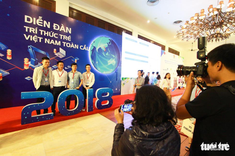 Khai mạc diễn đàn Trí thức trẻ Việt Nam toàn cầu lần thứ I - Ảnh 4.
